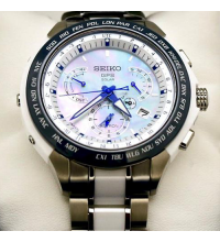 Seiko Astron SSE039J1 (SBXB039) 8X Series Dual-Time Limited Edition GPS Solar