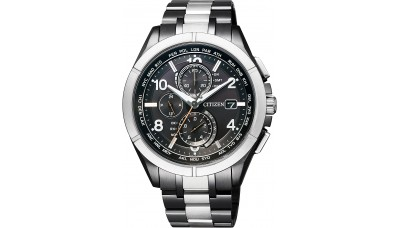Citizen ATTESA AT8165-51E Black Titanium Perfex Multi 3000