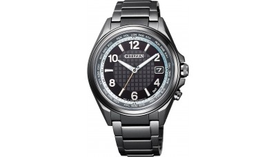 Citizen ATTESA CB1075-52E Black Titanium Radio Controlled
