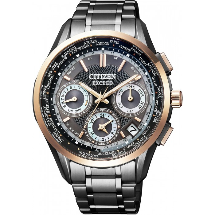 citizen eco drive satellite wave instructions