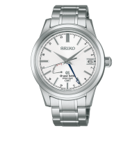 Grand Seiko SBGE025 9R Spring Drive GMT Stainless Steel