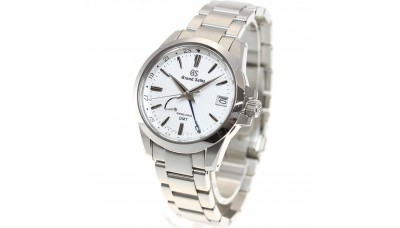 Grand Seiko SBGE209 9R Spring Drive GMT Stainless Steel