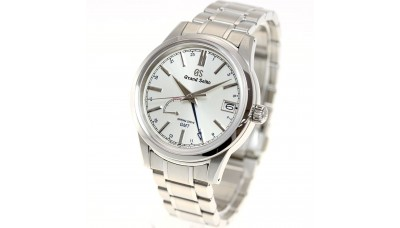 Grand Seiko SBGE225 9R Spring Drive GMT Stainless Steel