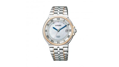 CITIZEN EXCEED AS7074-57A Eco-Drive Radio Controlled Made in Japan