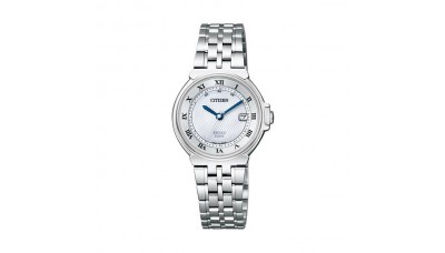 CITIZEN EXCEED ES1030-56A Ladies Eco-Drive Radio Controlled Made in Japan