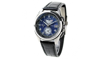 Citizen EXCEED AT9056-01L LIGHT in BLACK BLUE EDITION