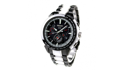 Seiko Astron SBXB071 / SSE071 8X Series Dual-Time Japan Limited Edition GPS Solar